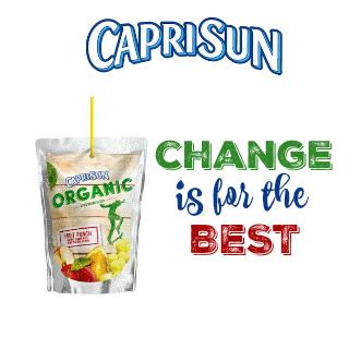 change is for the best capri sun