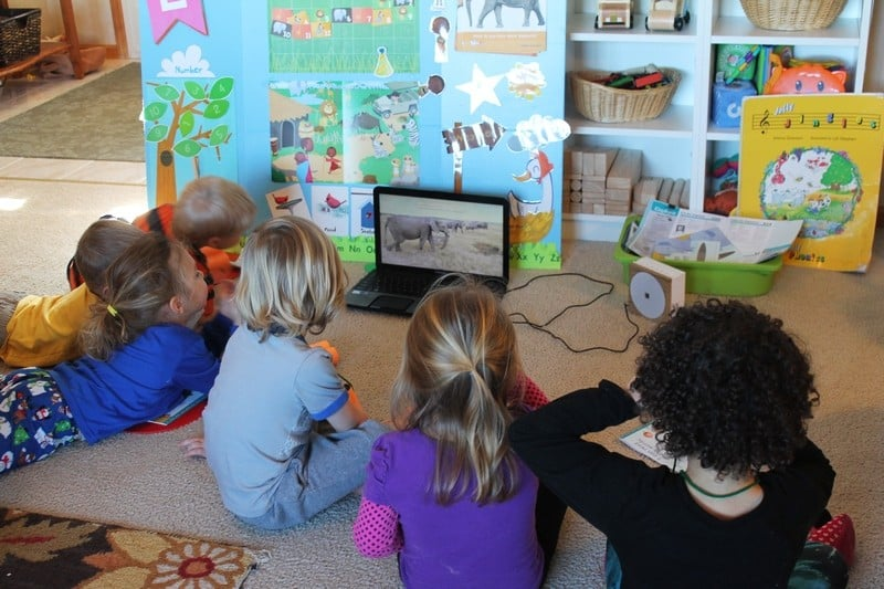 circle time #MGTblogger A Day With Mother Goose Time