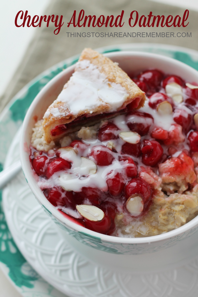 Cherry Almond Oatmeal #BringYourBestBowl #Target
