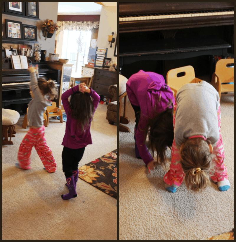 Learning about giraffes - Reach Bend like a giraffe