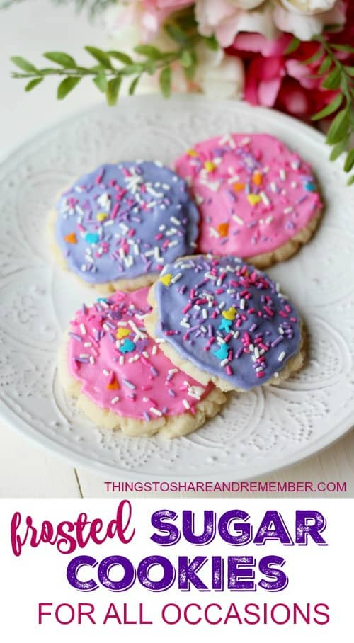 FROSTED SUGAR COOKIES FOR ALL OCCASIONS