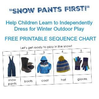 Snow Pants First