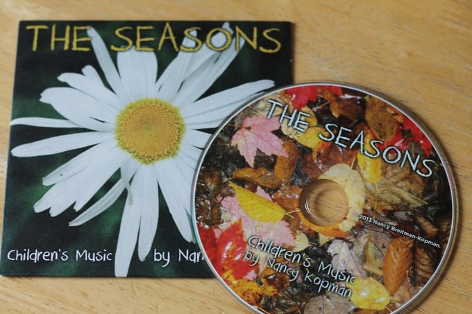 The Seasons CD Music by Nancy