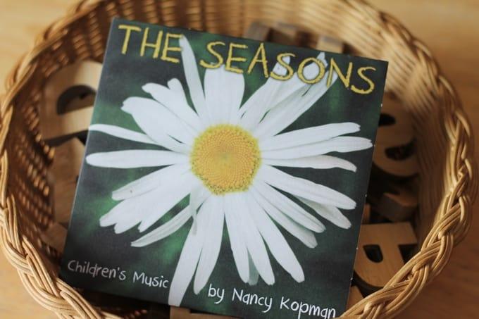 The Seasons CD Music by Nancy