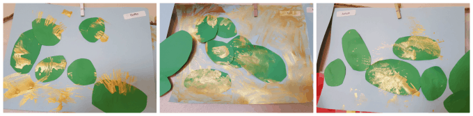 Cactus preschool art project #MGTblogger #discoverthedesert