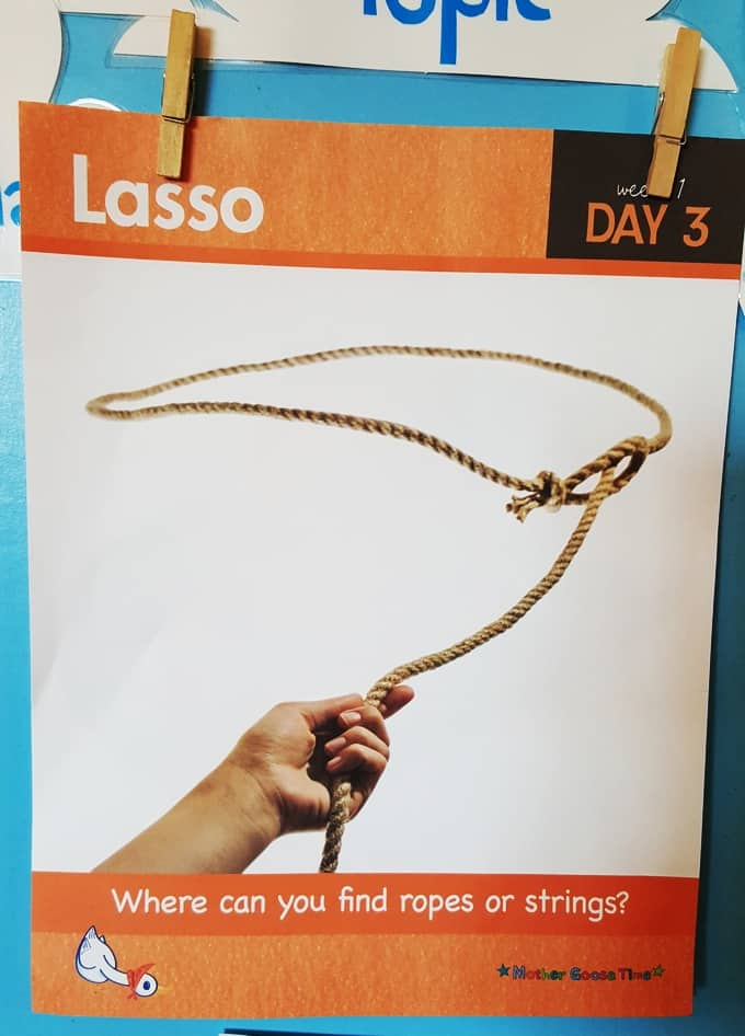 Lasso Daily Topic Poster