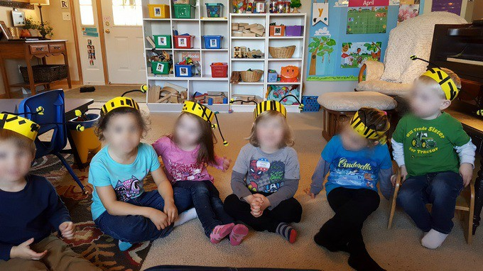 Bumblebee headbands