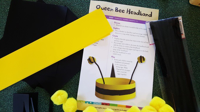 Queen Bee Headband - In the Beehive