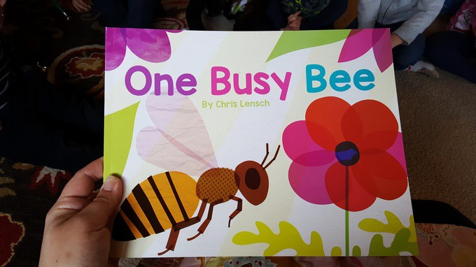 one busy bee book