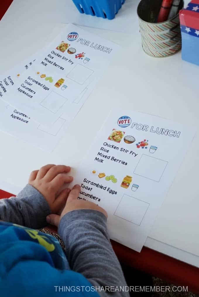 preschool voting activities finger reading