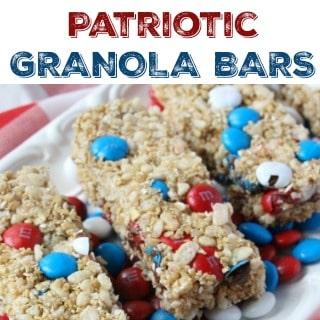 Patriotic Granola Bars 320