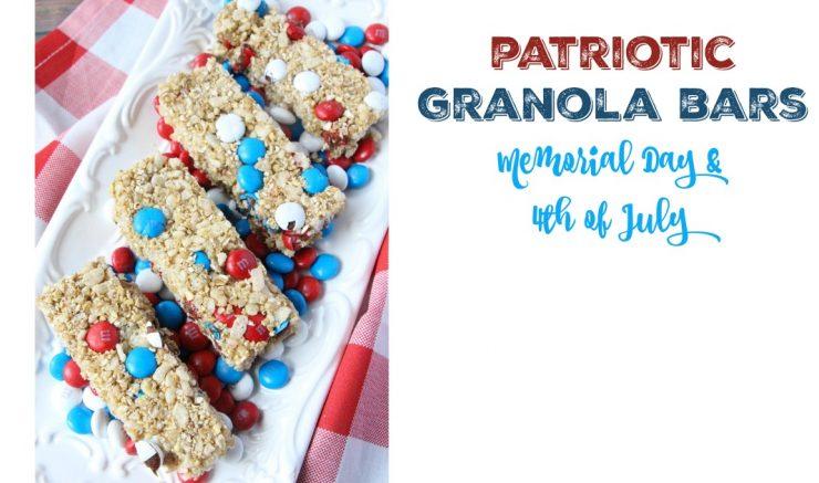 Patriotic Granola Bars