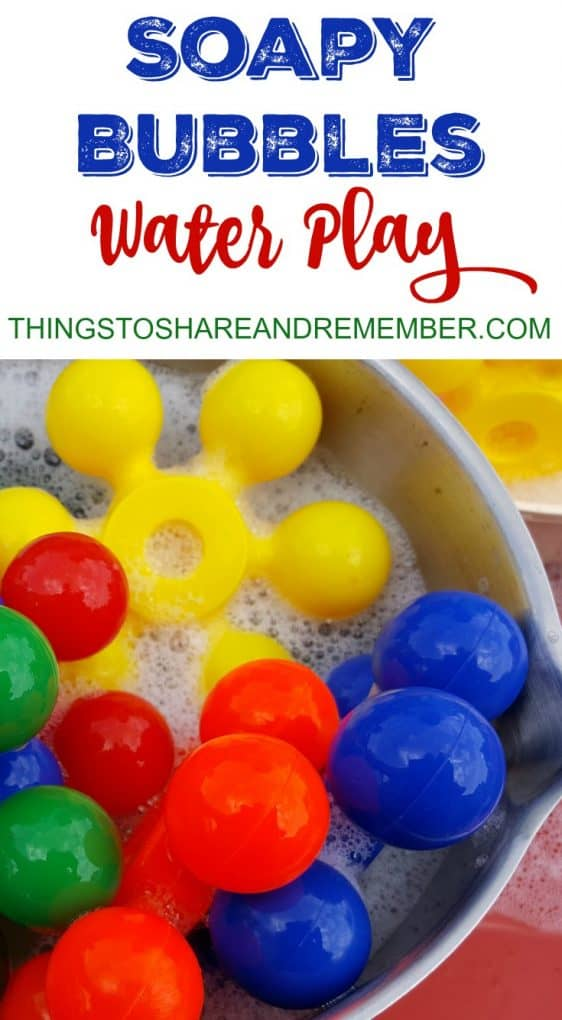 Soapy Bubbles Water Play Preschool