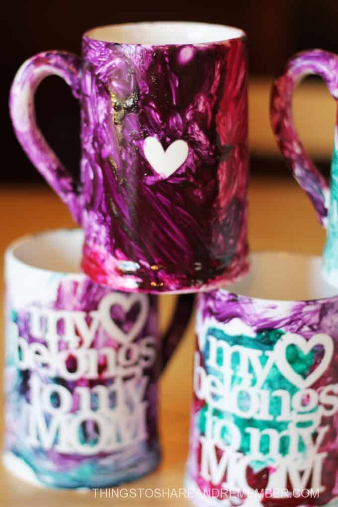 Painted Mug kit from Michael's Craft Store