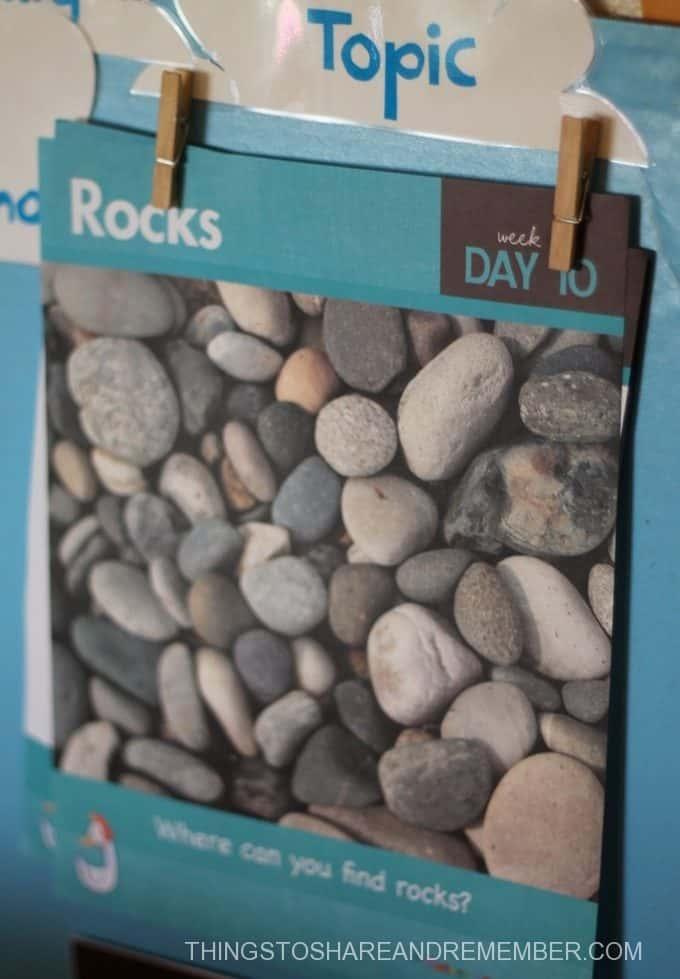 Chalk Rocks Sensory and Art