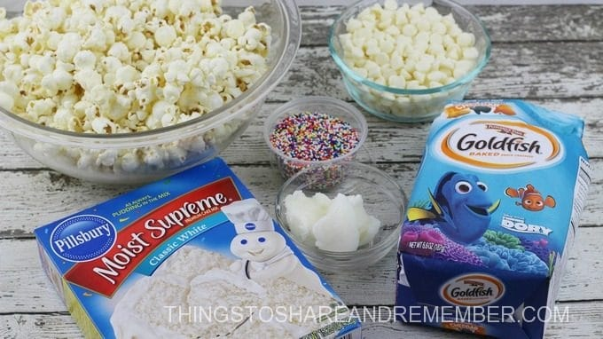 Dory Popcorn Ingredients