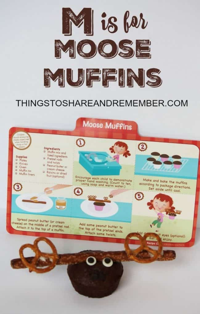 M is for Moose Muffins recipe