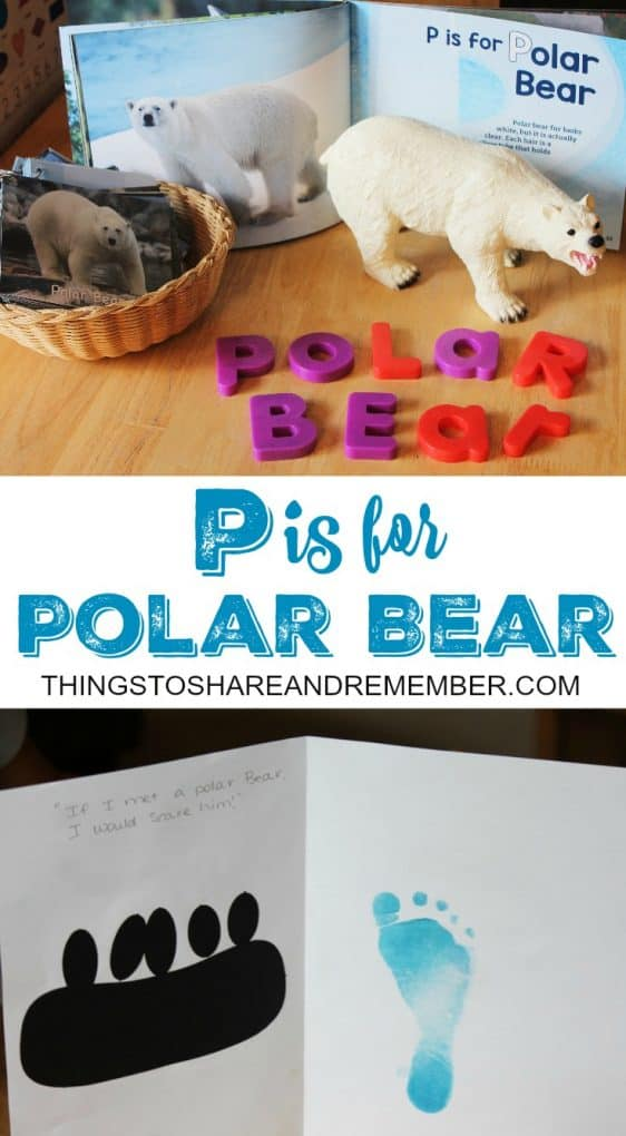 P is for Polar Bear - Share & Remember
