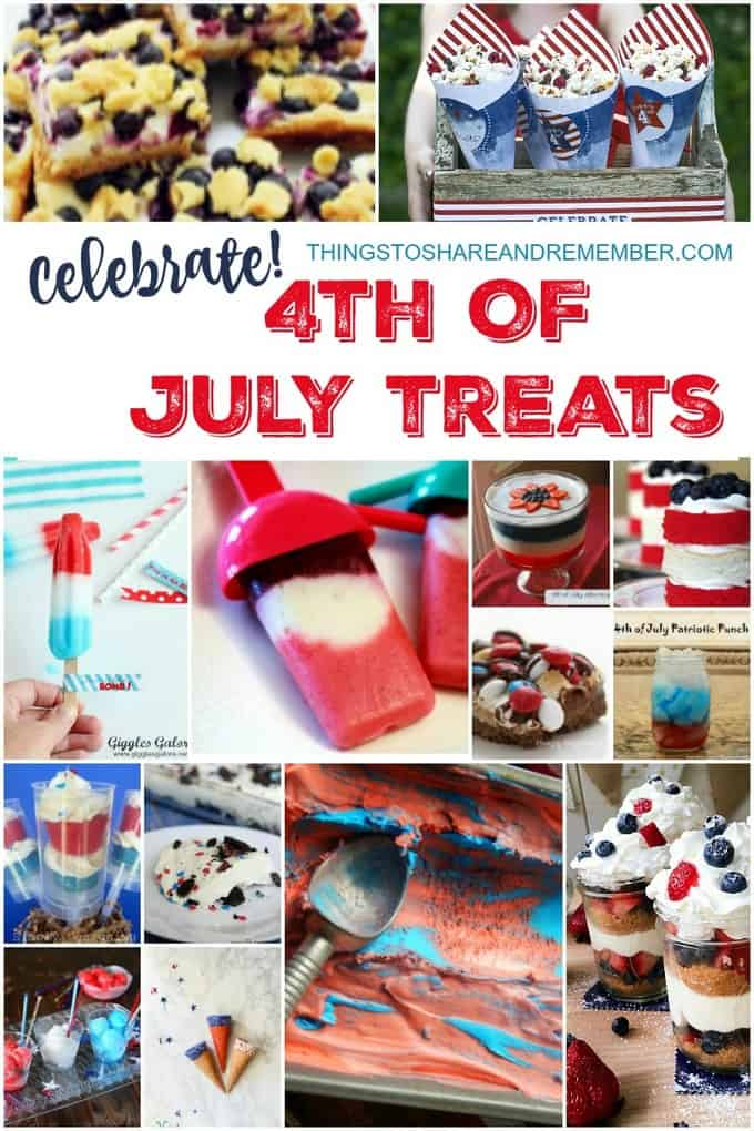 Celebrate with 4th of July Treats
