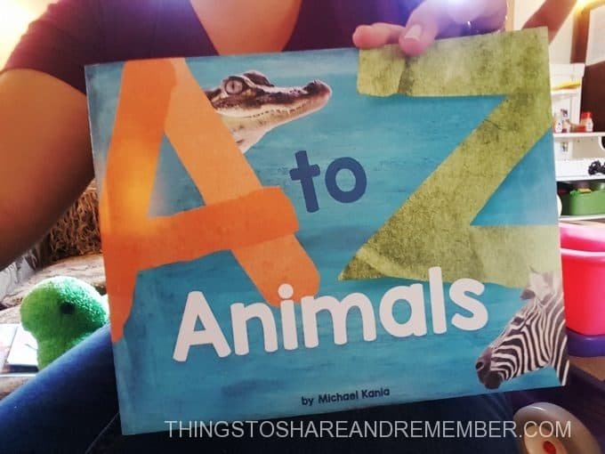 A to Z Animals book