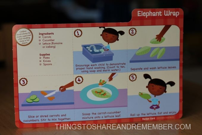 Elephant Wrap Recipe Card #MGTblogger