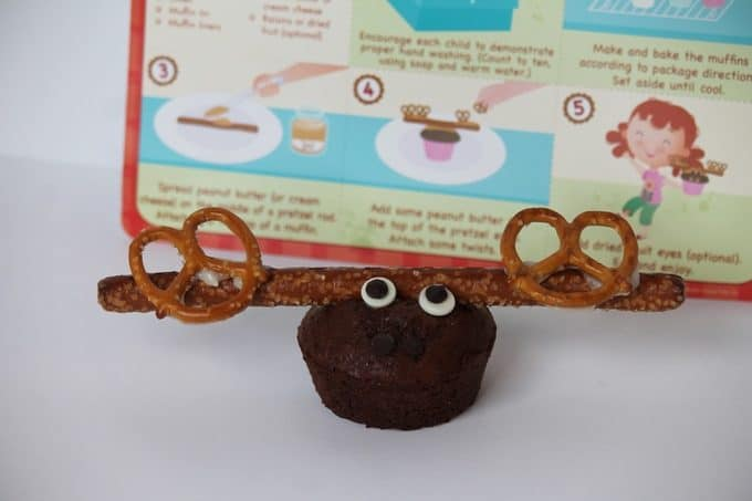 M is for Moose Muffins recipe card