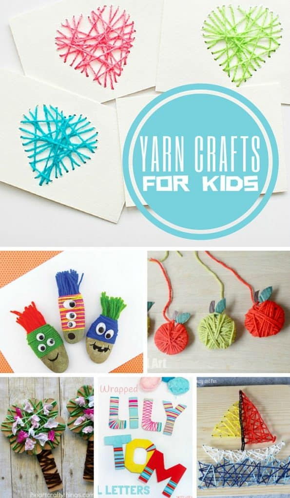 yarn crafts for kids yarn crafts for 5796