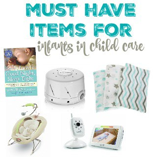 Must Have Items for Infants in Child Care