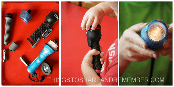 Making flashlights work Light and Electricity Activities For Kids