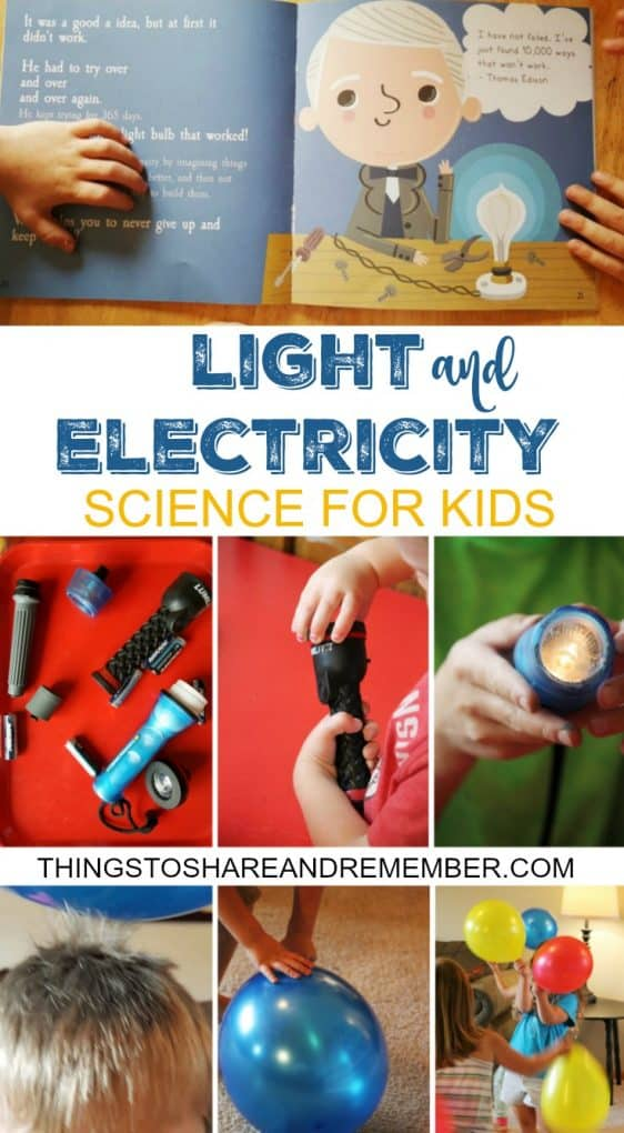 Light and Electricity Activities For Kids #MGTblogger
