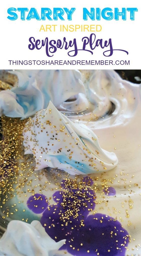 Starry Night Sensory Play