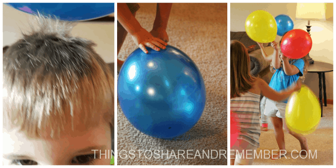 Static Electricity with Balloons