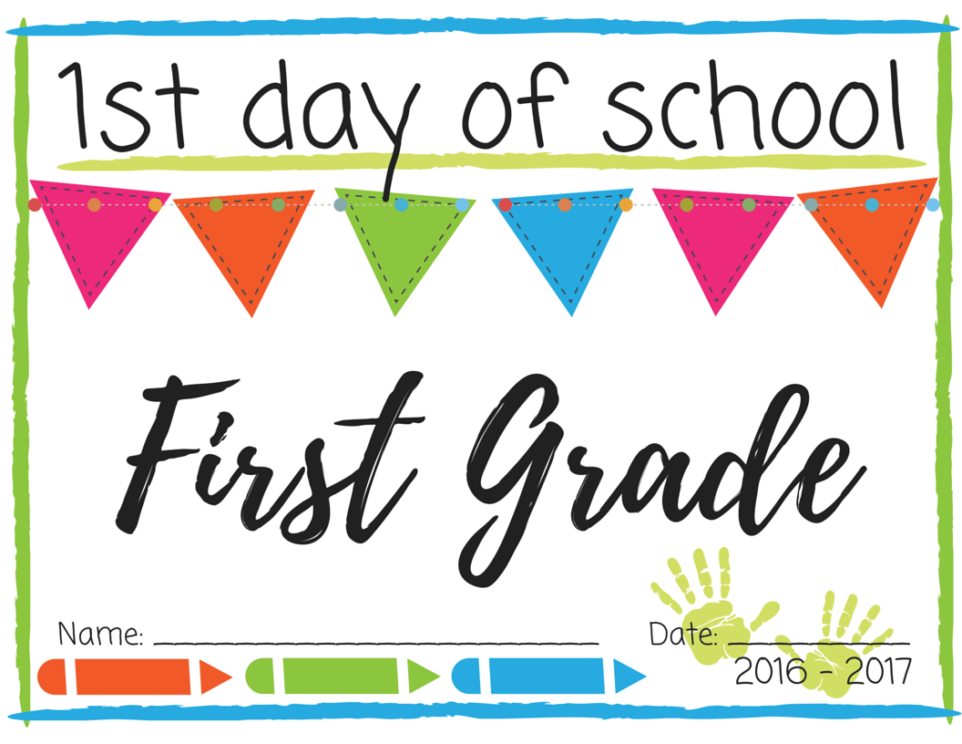 First grade printable school worksheets