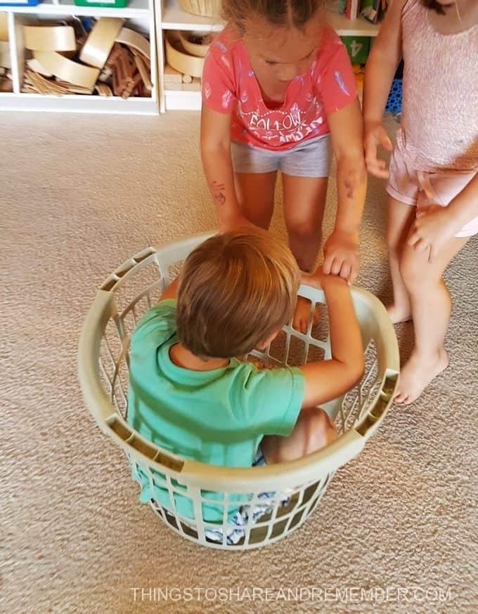 Learning About Force Push & Pull Basket