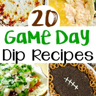 20 Game Day Dip Recipes