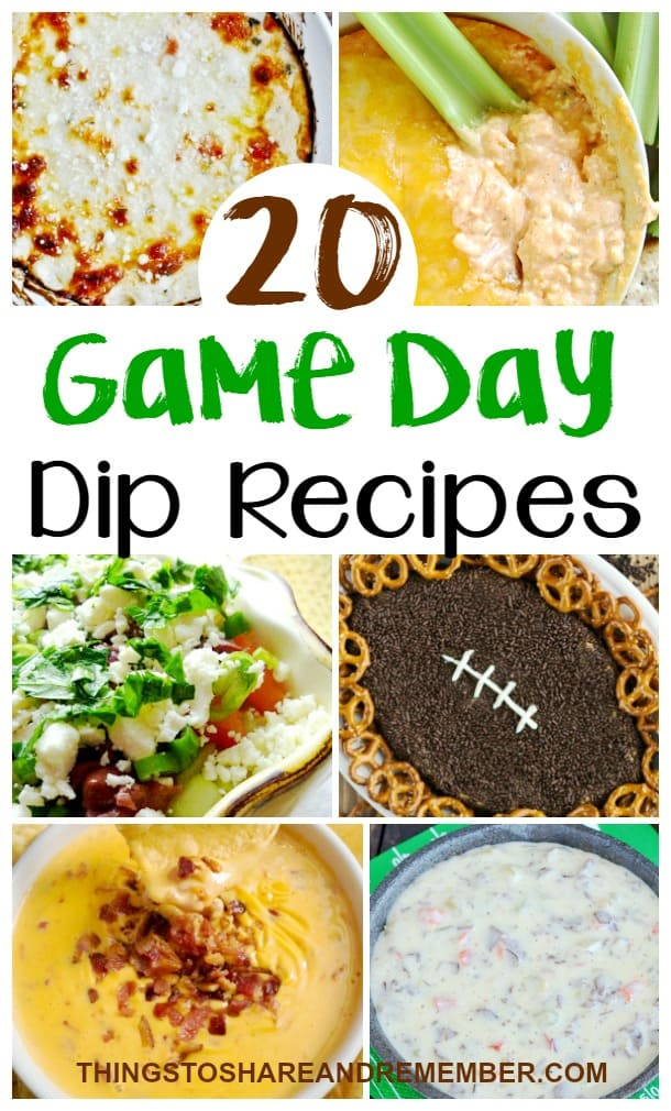 20 Game Day Dip Recipes