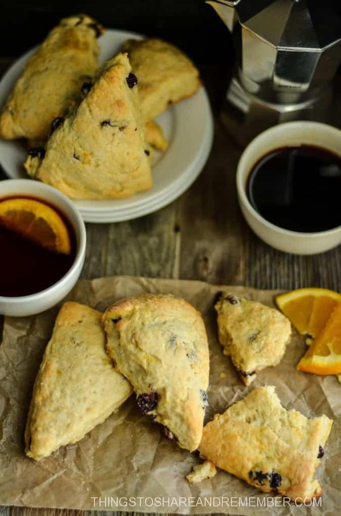 Orange Cranberry Buttermilk Scones » Share & Remember