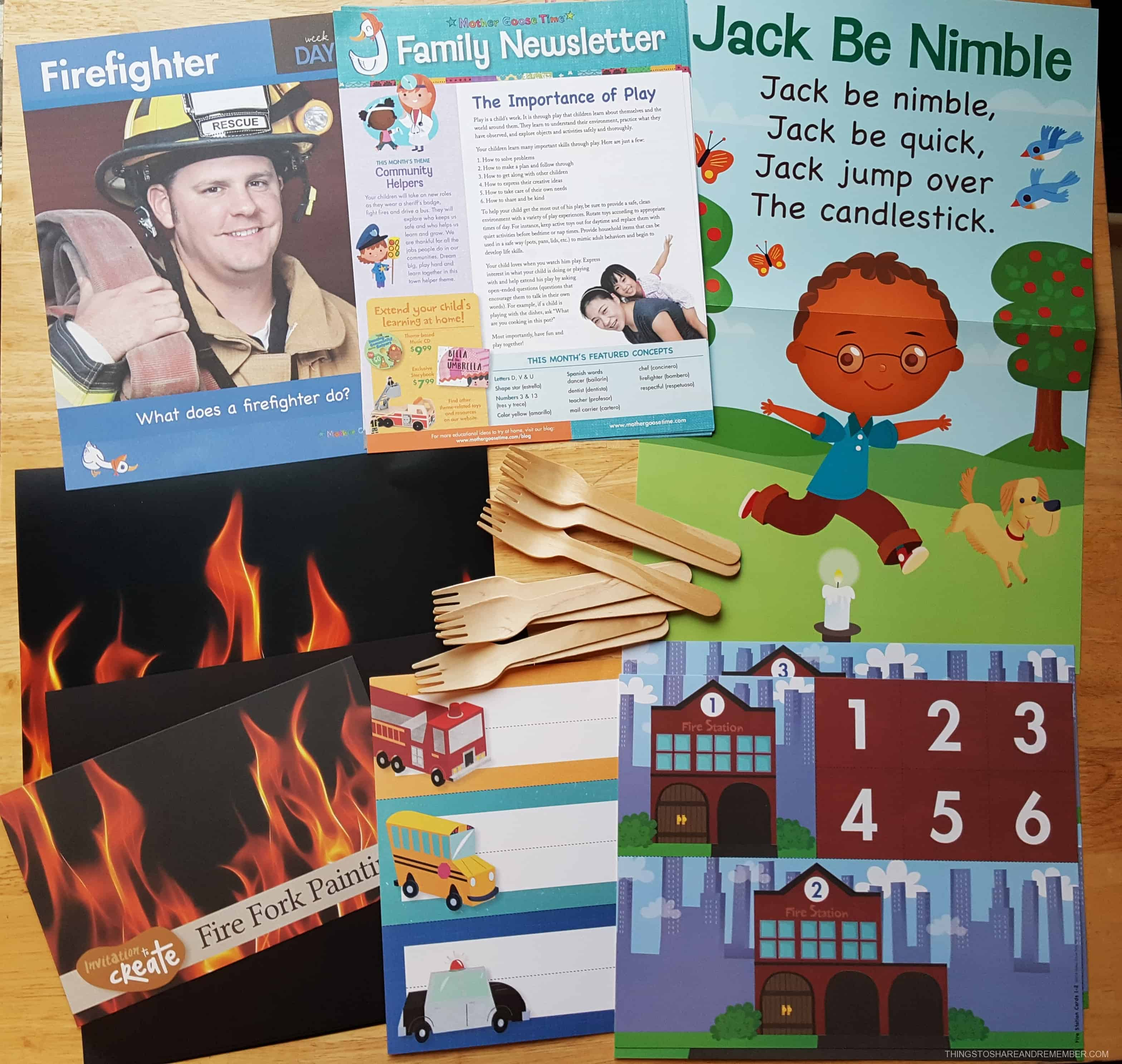 Community Helpers Firefighters #MGTblogger