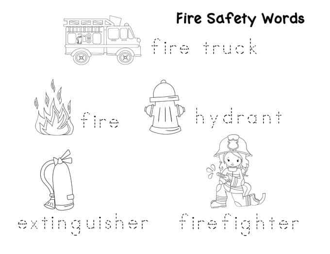 fire safety worksheets for preschoolers preschool safety booklet printables 226