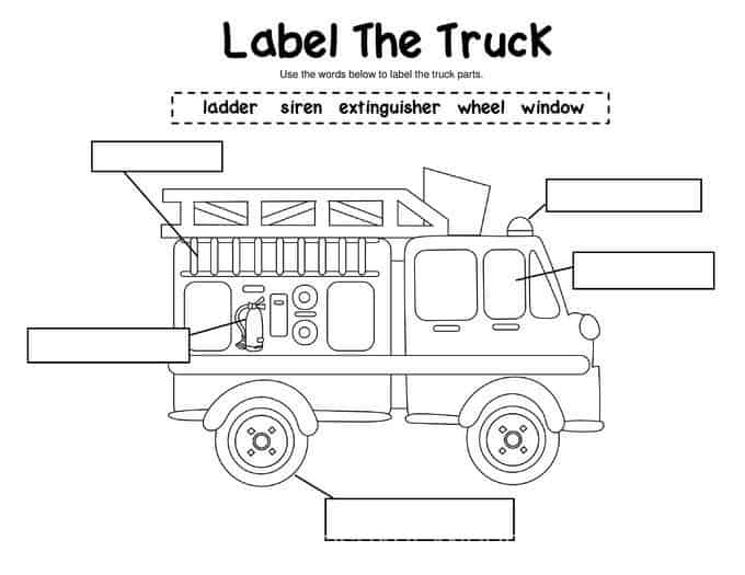label-the-truck
