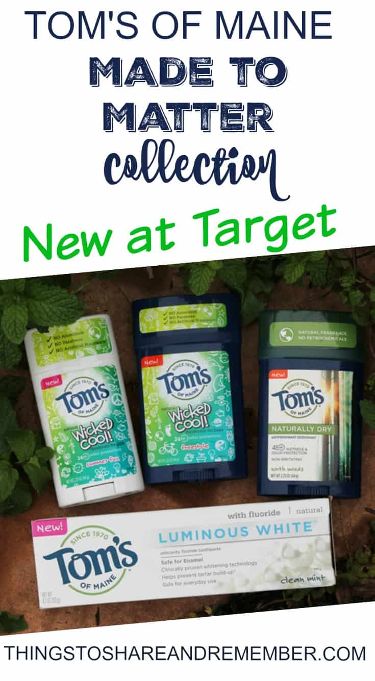 Toms of Maine Made to Matter Collection New at Target #tomsofmaine #madetomatter #ad