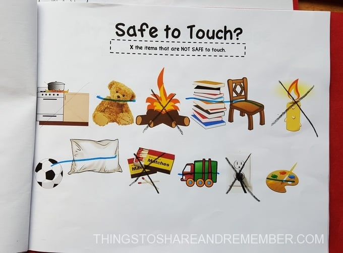 Fire Safety Booklet Printables