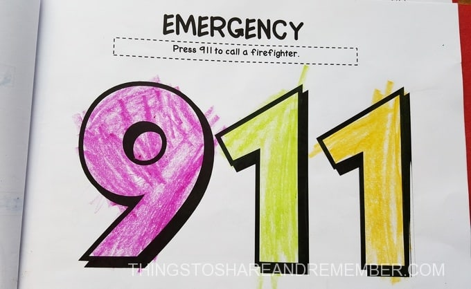 telephone 911 coloring pages - photo#41