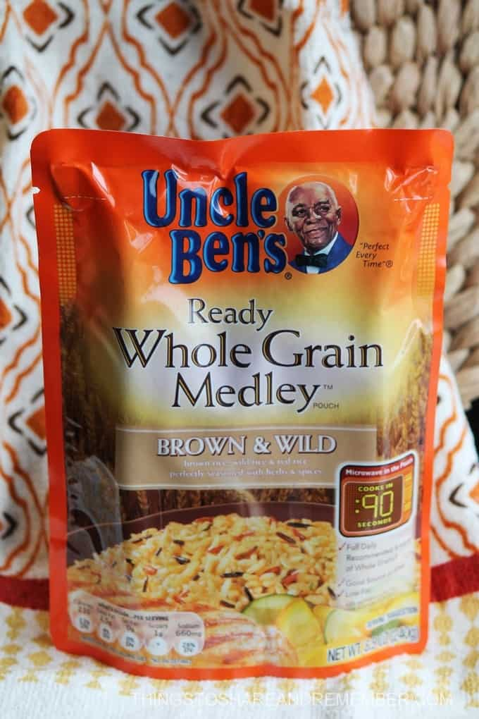 Simple Dinner Prep with Uncle Ben's Ready Rice #BensBeginners #UncleBensPromo