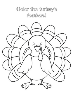 Printable Thanksgiving Coloring Book