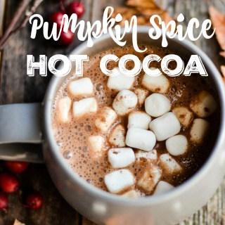 Pumpkin Spice Hot Cocoa