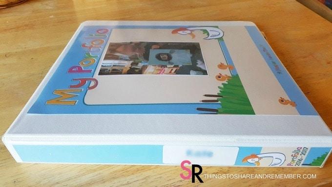 preschool portfolio binder