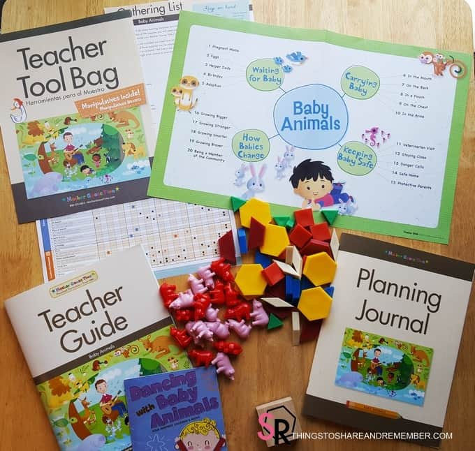 Teacher Tool Baby Baby Animals Mother Goose Time