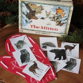 Winter in Woods: Mittens
