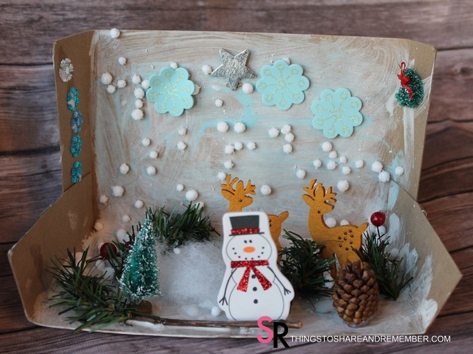 Winter in the Woods Dioramas